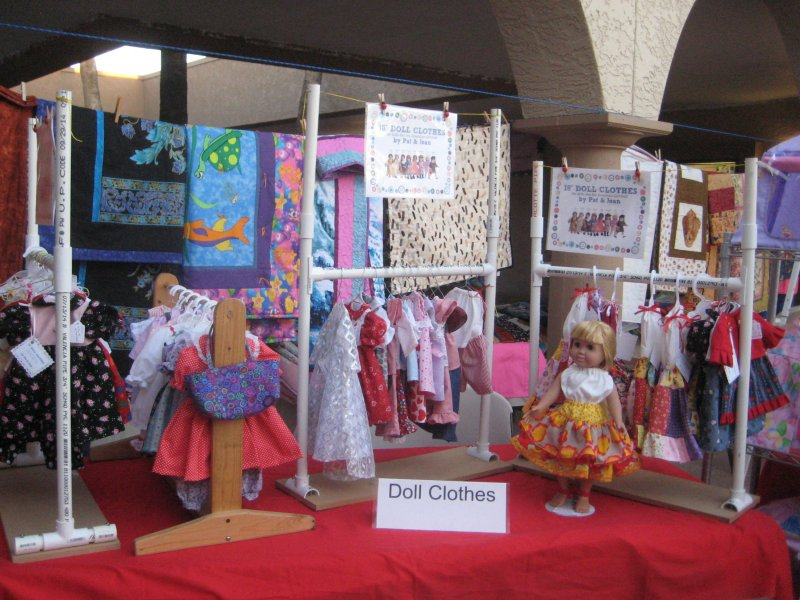 Doll Clothes Display
