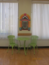 Cute extra table and chairs