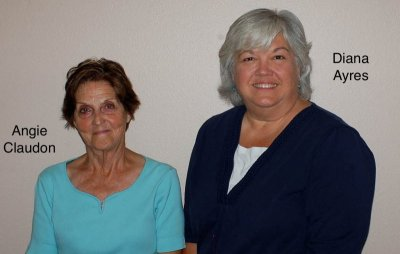 2015 2nd VPs Angie Claudon and Diana Ayre