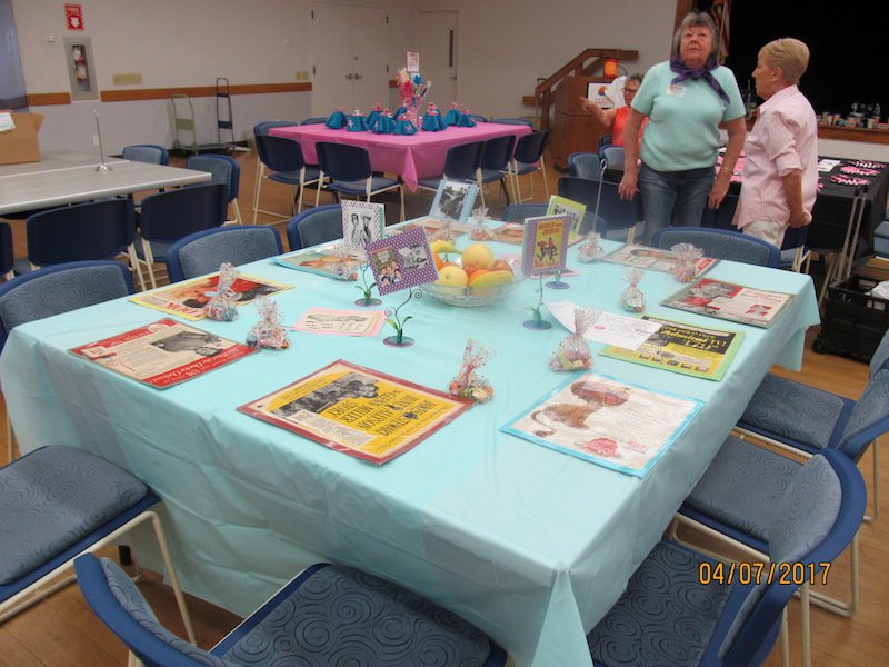 Check out the table setting